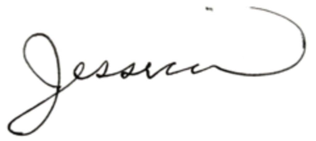 Jessica Rolph signature