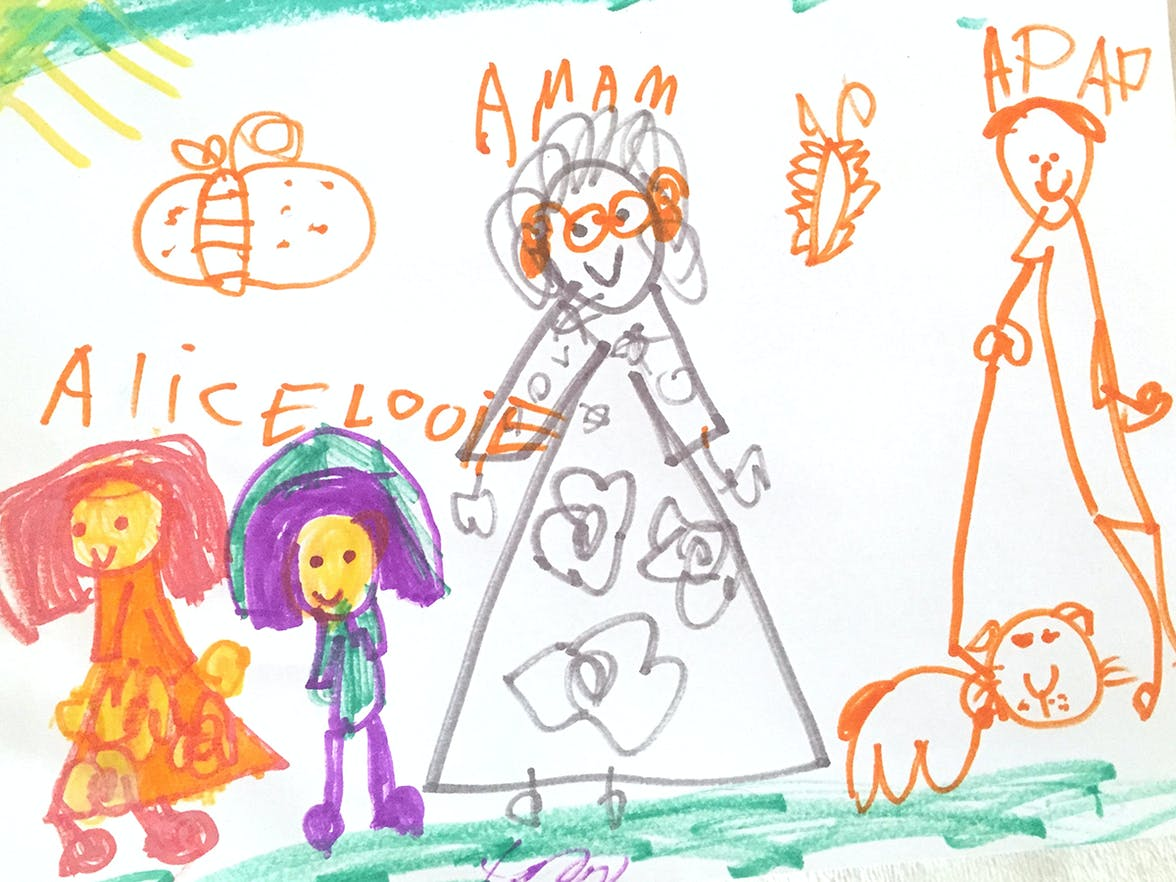 Drawing by a child