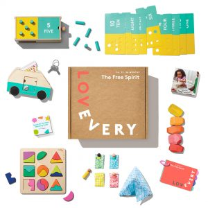The Free Spirit Play Kit by Lovevery