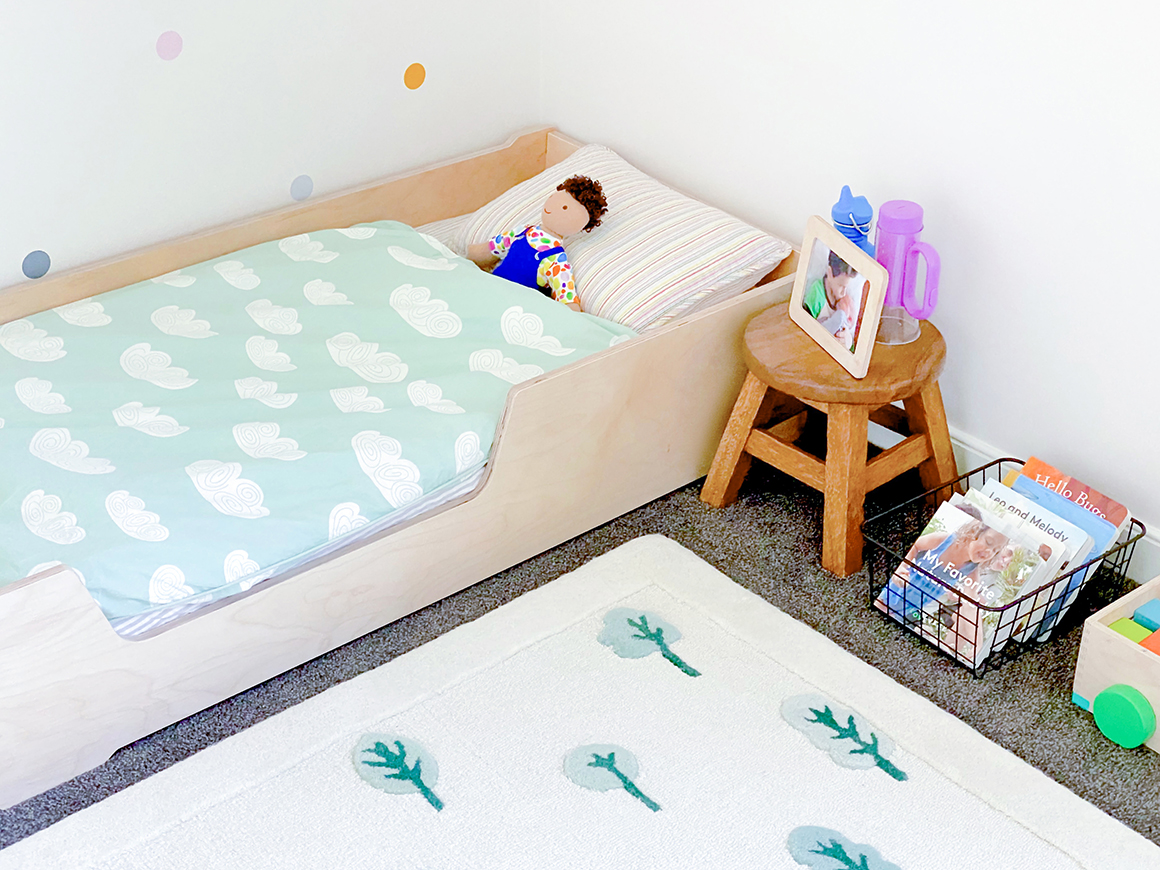 How To Montessori Your Two Year Old S Bedroom