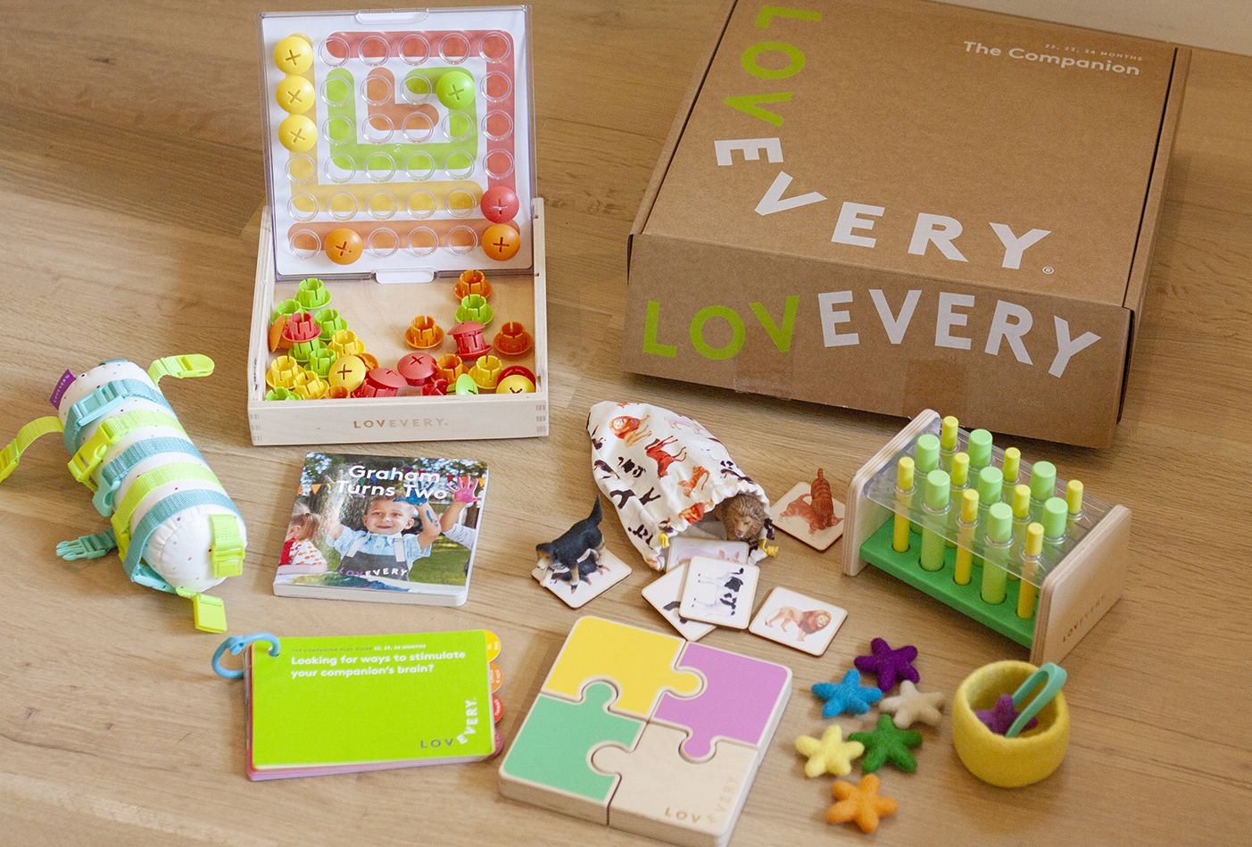 What's inside The Companion Play Kit by Lovevery
